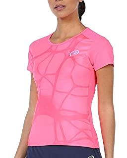 Camisetas para pádel o tenis de color rosa de mujer