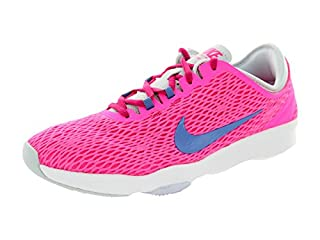 Zapatillas de pádel o tenis de color rosa de mujer